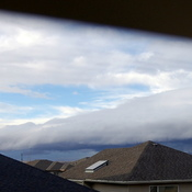 Shelf Cloud building NW Calgary
