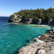 The Grotto, Tobermory, ON, oct 17