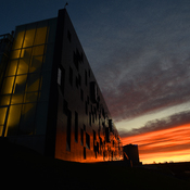 Sunrise on The Perimeter institute