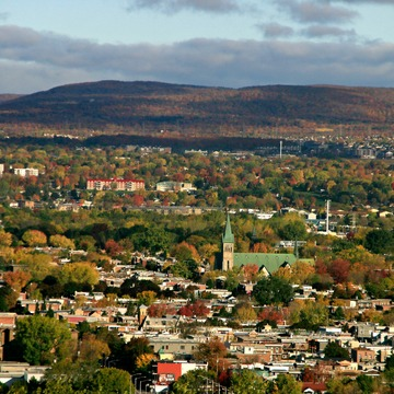 Fall Colours from Quebec City.