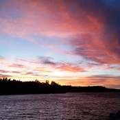 Loon Bay Sunset
