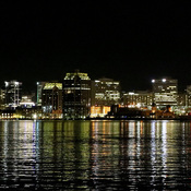Halifax, Nova Scotia skyline at night