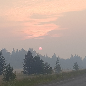Wildfire Sunrise