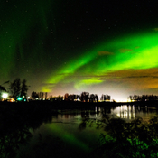 Lights of Fort McMurray