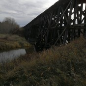 Trestle over Sturgeon River