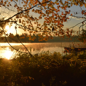 Sunrise on Cranberry Lake
