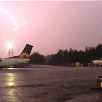 Pickle Lake Airport Lightshow