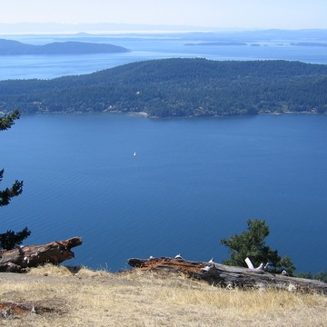 Saturna Island view South