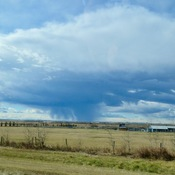 Precip near Olds AB