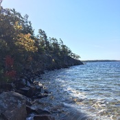 Autumn in Killbear Provinical Park