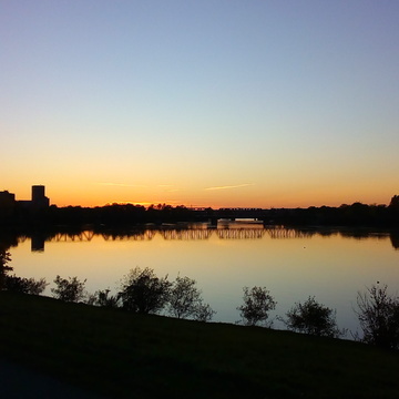 biking home on the ottawa River