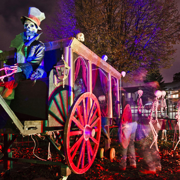 Westbury Haunted Carriage