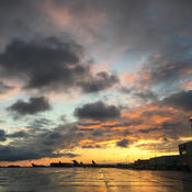 Fall sunrise
