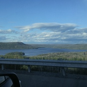 Gorgeous view leaving NB