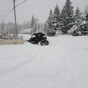 1st snowfall for Terrace bc