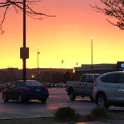 Looking West from a Wal Mart parking lot