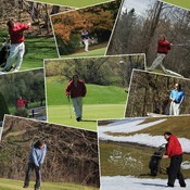 Just ask this golfer...The Weather might be colder, but there is plenty of golf