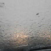 Freezing Rain on my windshield!!