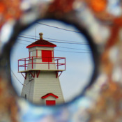 Fort Amherst Lighthouse.