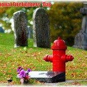 International Firefighters' Day SImcoe Ontario Canada