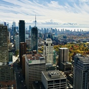 Toronto Skyline on a Glorious Fall Day
