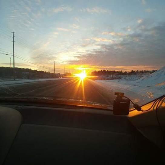 sun rise Sudbury, ON