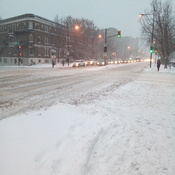 Sherbrooke and Papineau welcome winter...