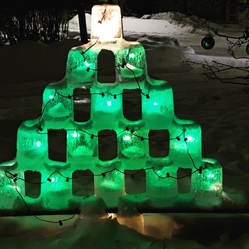 Ice Candle Tree