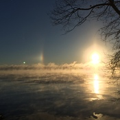 Sundog on Lake Simcoe