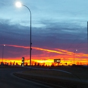 Sunrise in Calgary