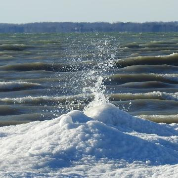 Winter weather in Presqu'ile