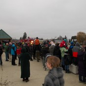 Holiday Anticipation-Excitment of CP Holiday Train-Creston