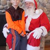 My grandson love Santa Claus