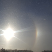 hazy rainbow curvature