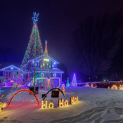 Port Stanley Christmas Lights