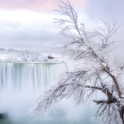 Icy Niagara Sunrise