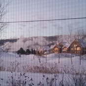 Snow making at Blue Mountain