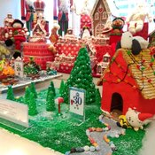 Gingerbread Lane of Hyatt Regency Vancouver