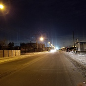 Lachine Quebec Light Pillars