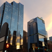 Calgary Downtown Sunset