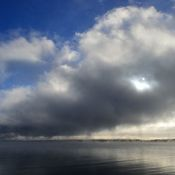 Condensation Cloud Above Kempenfelt Bay