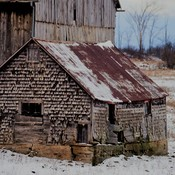 Snow and Beauty - Rudolf and Barns