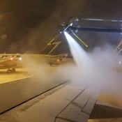 deicing for the flight home