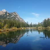 lake in Kananaskis country