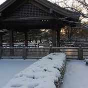 Kariya Park with snow