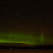 aurora in Sandy Lake Manitoba on January 15/18