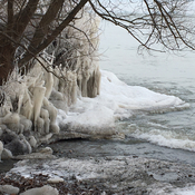 Walker's Creek, lakefront path near Wright Bros. Park, St. Catharines