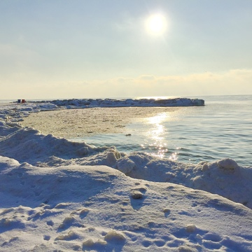 Snowscapes at the Toronto Beach