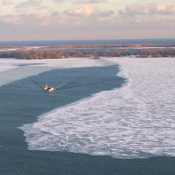 Lake Ontario in winter