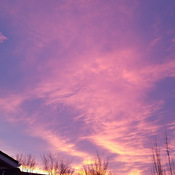 Jan 17 2018 8am Chinook Sky beautiful nature